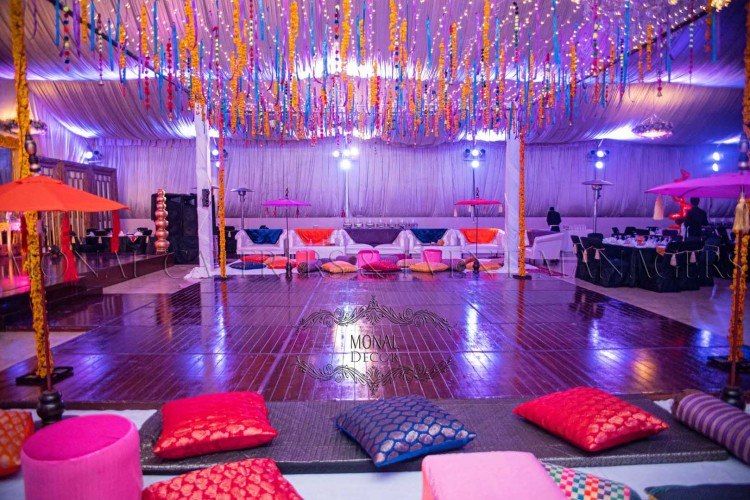 dance floor + lounge