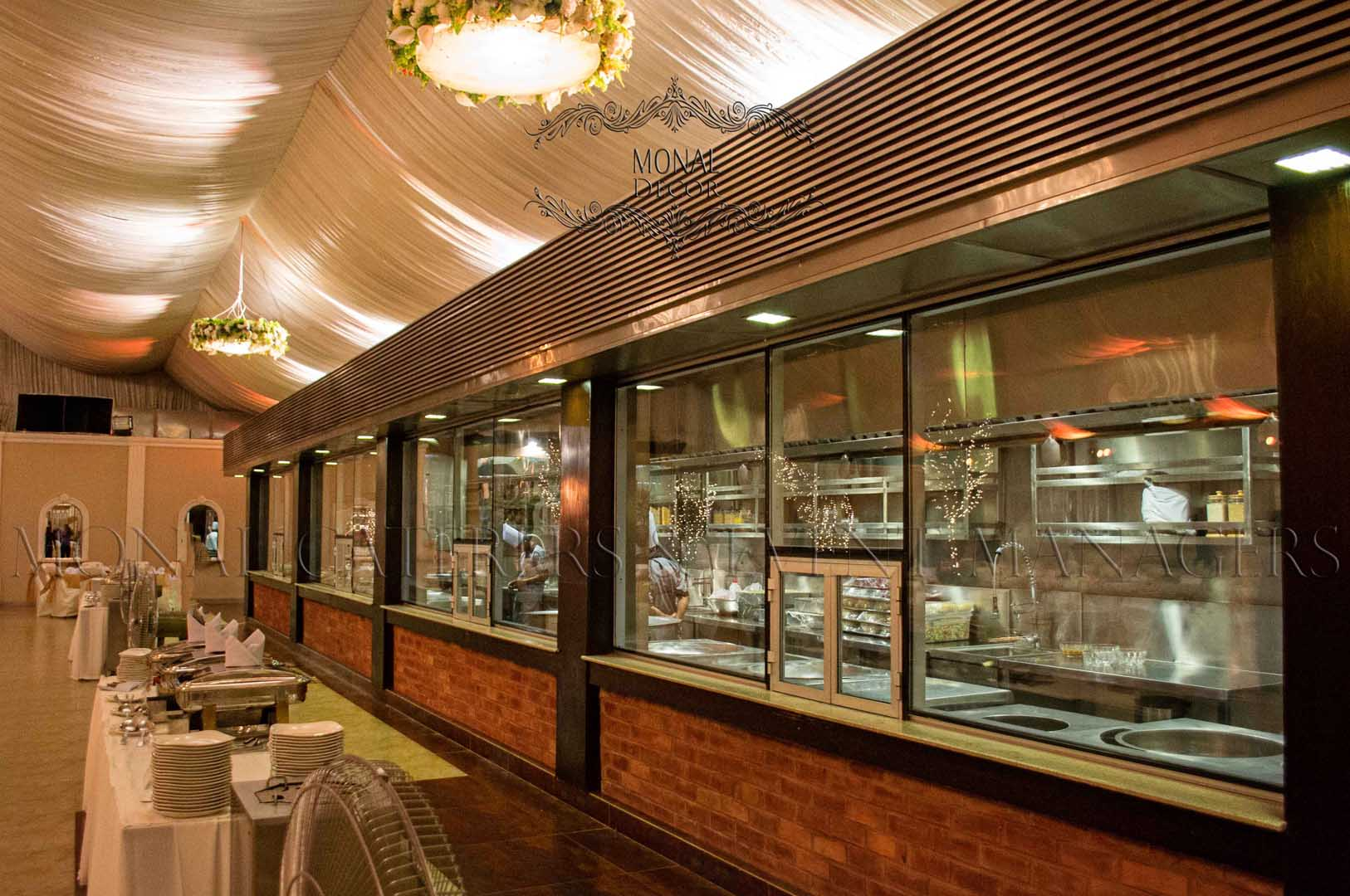 Live Kitchen Monal Marquees